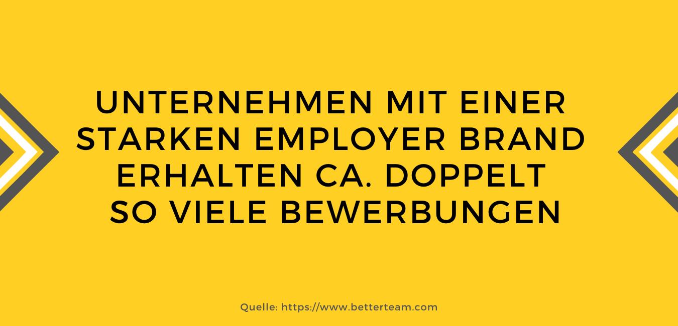 Zahlen und Fakten aus dem Employer BRanding
